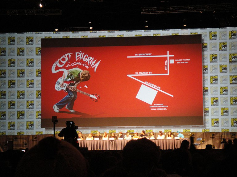 Scott Pilgrim vs. the World Panel at Comic Con | © popculturegeek.com/WikiCommon