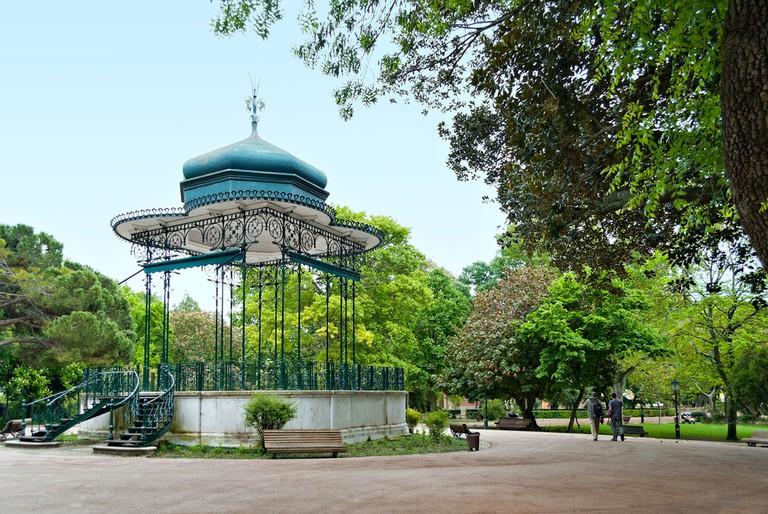 Portuguese pavilion at Jardim da Estrela in Lisbon, Portugal ©Gubin Yury / Shutterstock