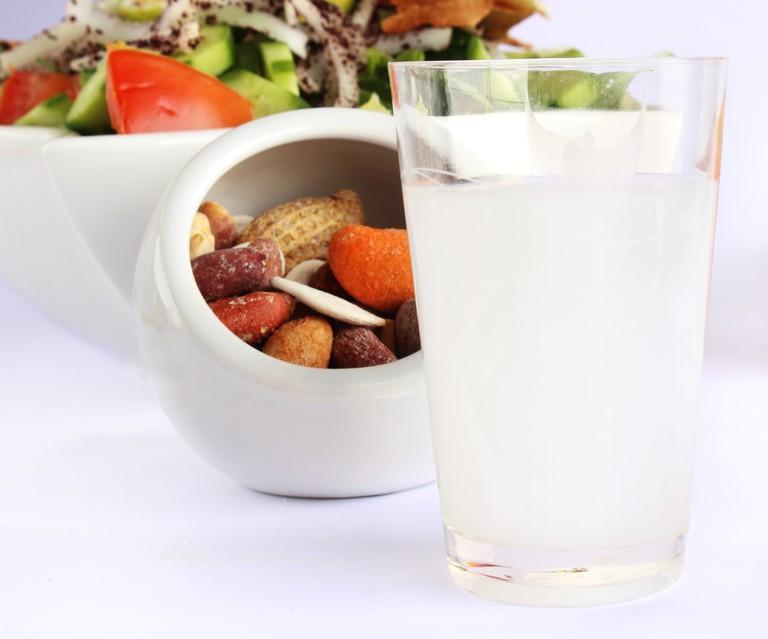 Arak - Traditional Lebanese drink ©Tony El-Azzi / Shutterstock