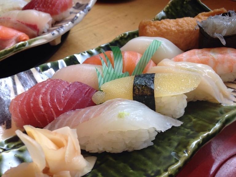 Sushi platter |© Pixabay