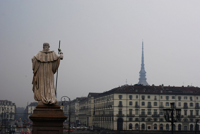 View from Gran Madre, Turin | © Evelyn Hill/Flickr