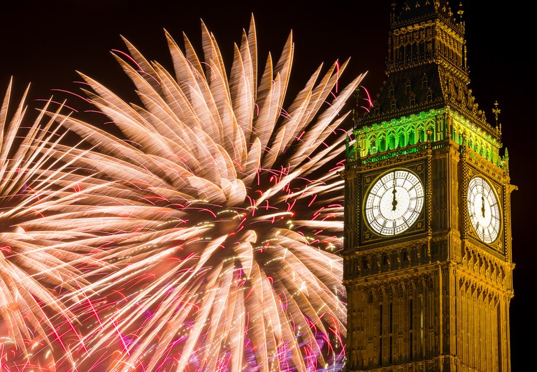 Big Ben at New Year's Eve | © Chris Chabot / Flickr