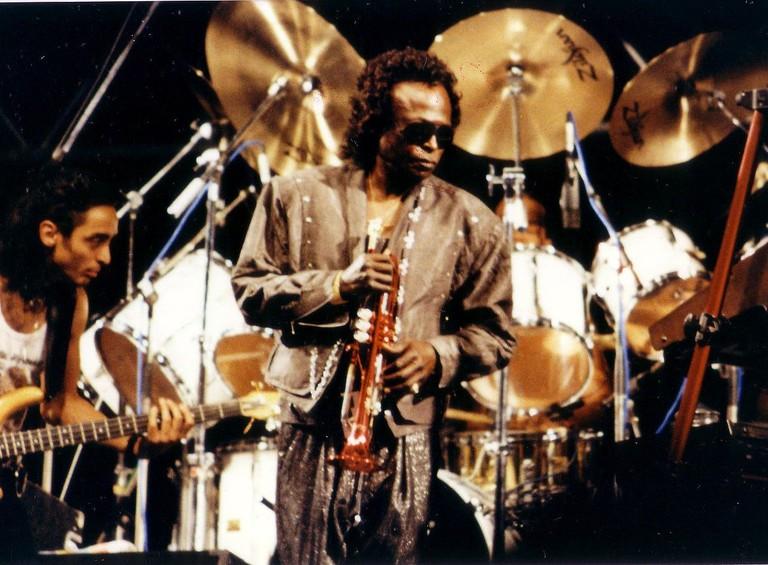 Miles Davis, Festival de Niza (1989) | © ohjaygee/WikiCommons
