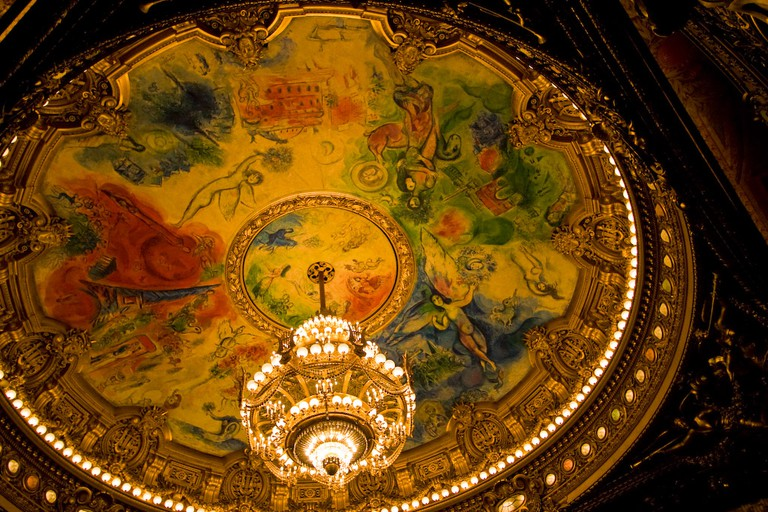 Ceiling of the Opera Garnier by Marc Chagall © Mon Œil / Flickr