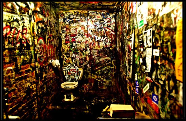 CBGB restroom   © Pål Nordseth/Flickr