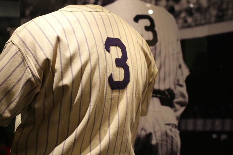 Babe Ruth's Farewell Jersey - National Baseball Hall of Fame l © Dan Gaken/Flickr