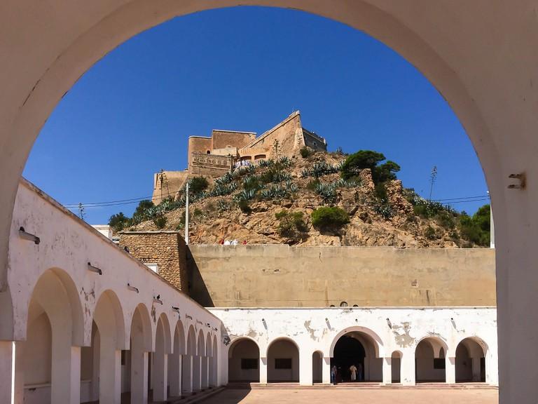 Fort Santa Cruz, viewed from the Basilica © Tdecelis/Flickr