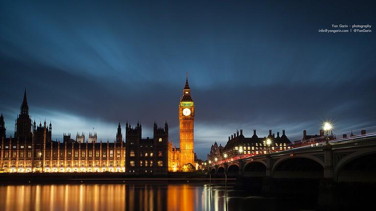 Big Ben at night | © Yon Garin / Flickr