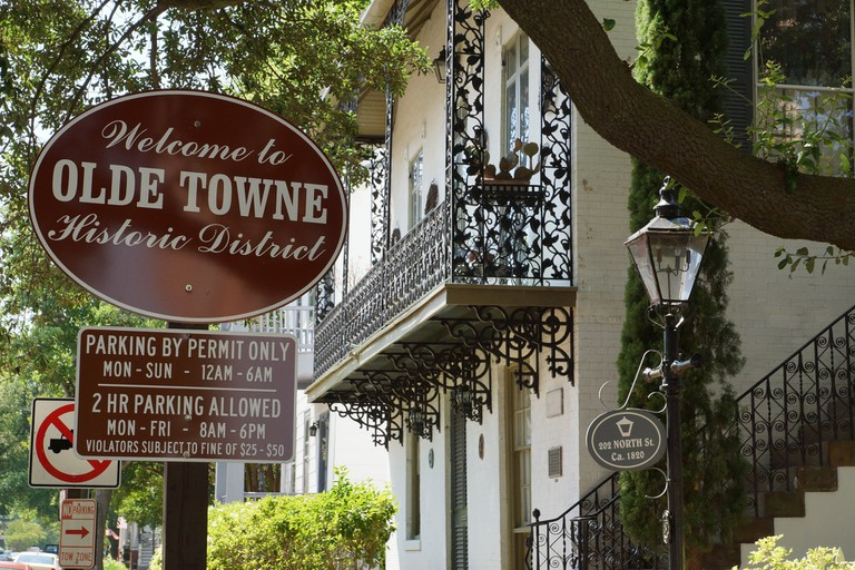 Olde Towne Historic District in Portsmouth   © Michael A. Herzog/Flickr