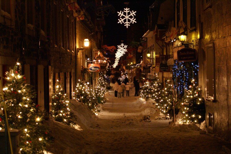 celebrate christmas at these festive canadian destinations jpg 768x514 quebec city christmas light wintry picturesque