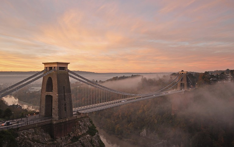 Bristol - Clifton Suspension Bridge © Harshil Shah/Flickr