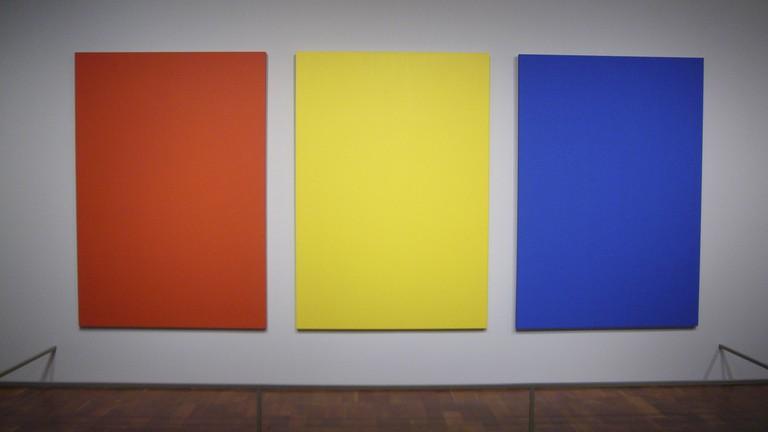 "Ellsworth Kelly - ""Red, Yellow, Blue II"" | © Kent Wang/Flickr"