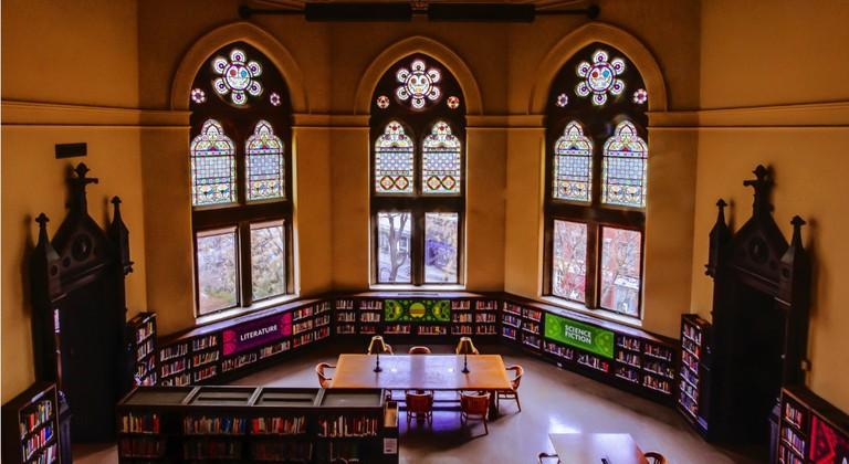 Jefferson Market Library   © Iyad Kheirbek