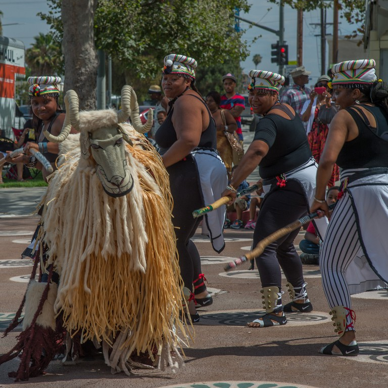Day of the Ancestors from Found LA event in 2015. Courtesy of Karen Mack..