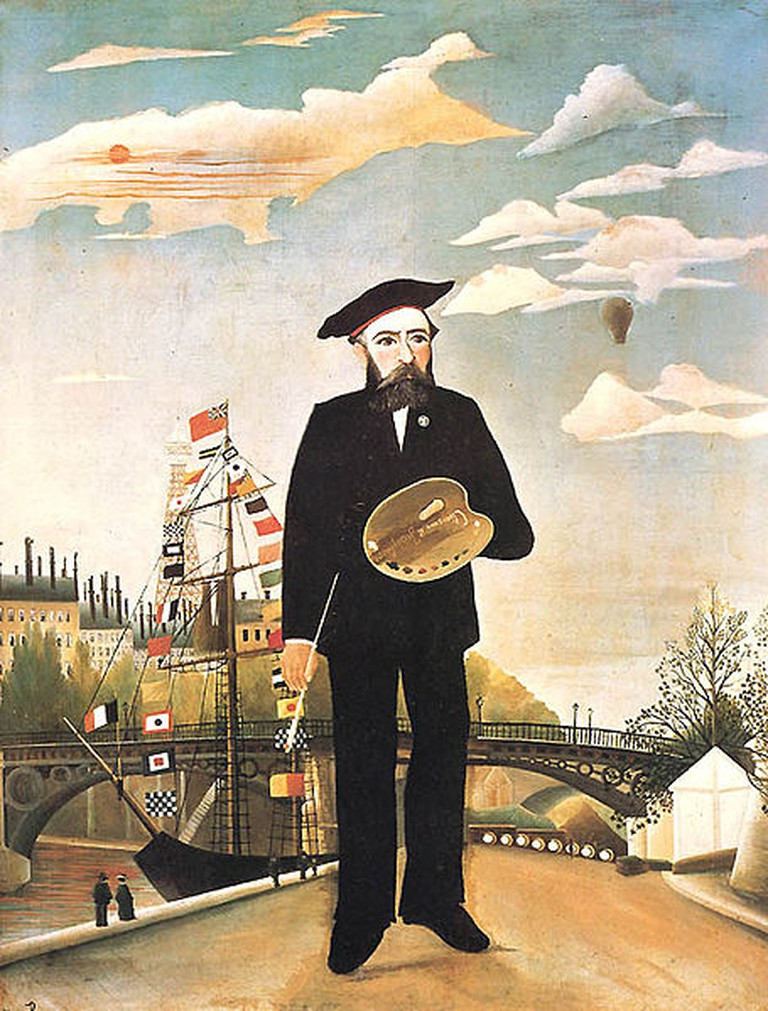 Henri Rousseau. 'Self-Portrait'. (1890)