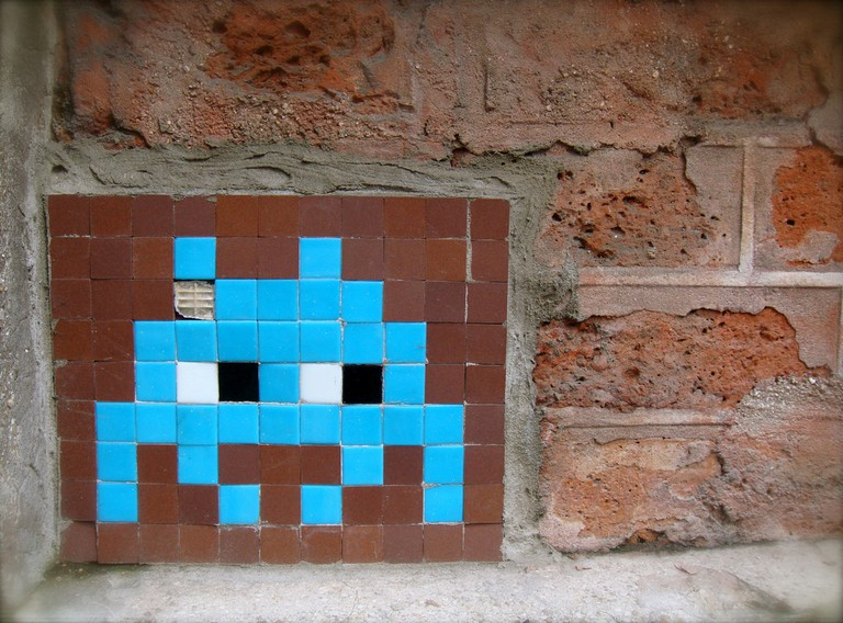 Space invader © Marie Aschehoug-Clauteaux / Flickr