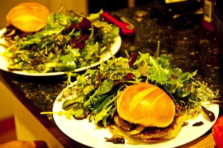 Burger ©Ken Hawkins