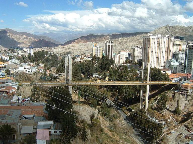 Central La Paz | © Jonik/Wikicommons