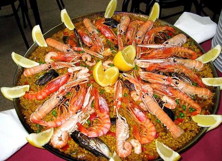 Paella de marisco | © Manuel Martin Vicente/WikiCommons