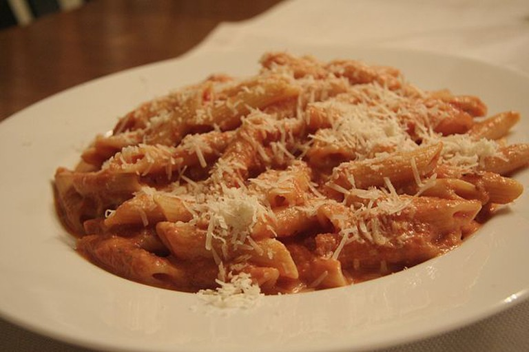 Penne Alla Vodka |© Joseph O'Connell/Wikimedia Commons