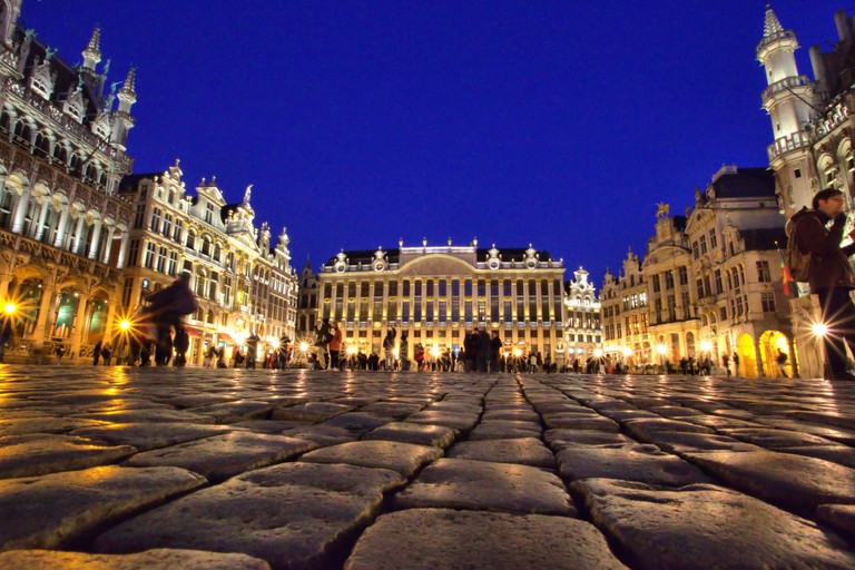 The Well-Worn Cobblestones of the Grand Place - © Janet Lunn/Flickr
