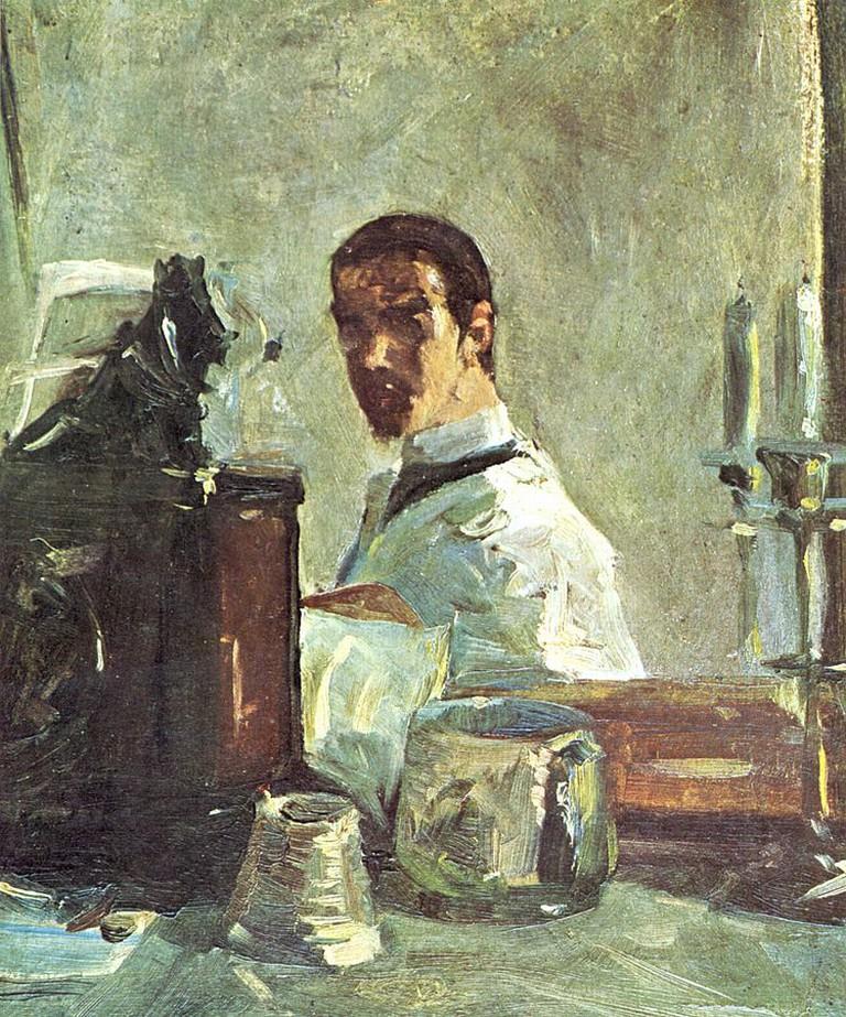 Henri de Toulouse-Lautrec. 'Self Portrait' (1882) | ©WikiCommons