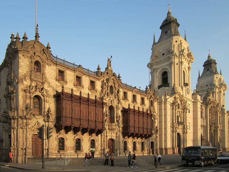 Cathedral of Lima I © David Stanley/Flickr
