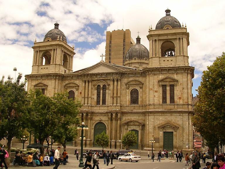 La Paz catedral © José Porras/ WikiCommons