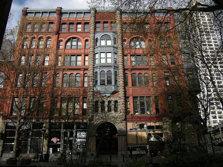 Pioneer Square Building   © Joe Mabel/WikiCommons
