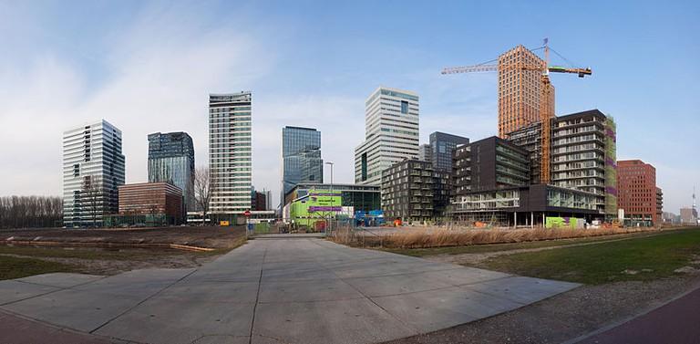 Zuidas, Amsterdam   © Massimo Catarinella/WikiCommons