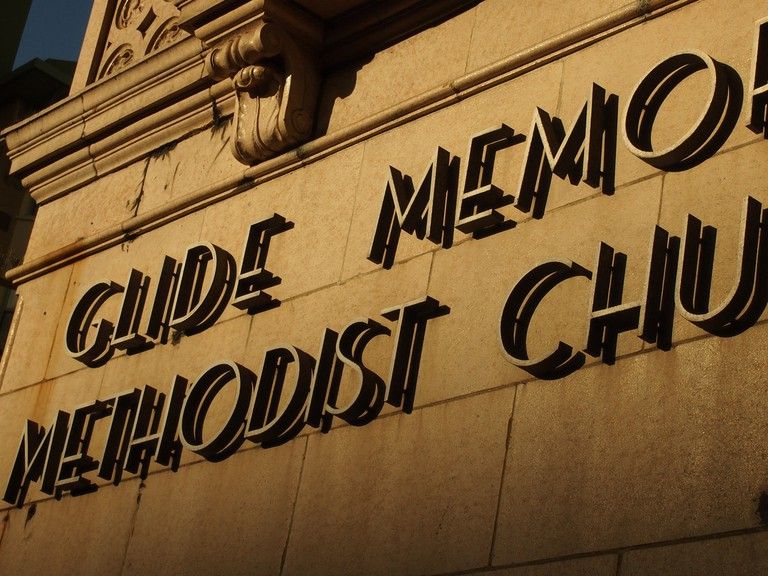 Glide Memorial Methodist Church | © Francisco Gonzalez/Flickr