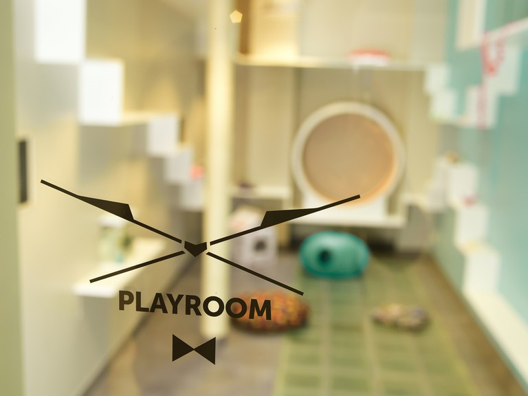 The Cat Playroom| Courtesy of Aristide Hotel