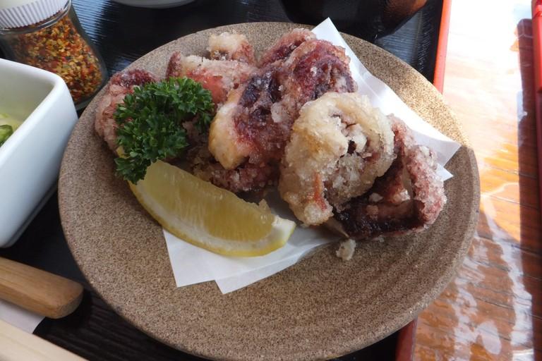 Fried Octopus | © Mti/Wikimedia