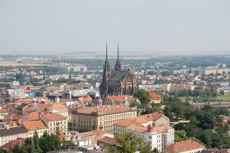 View on Brno from Špilberk | © Norbert Aepli/WikiCommons