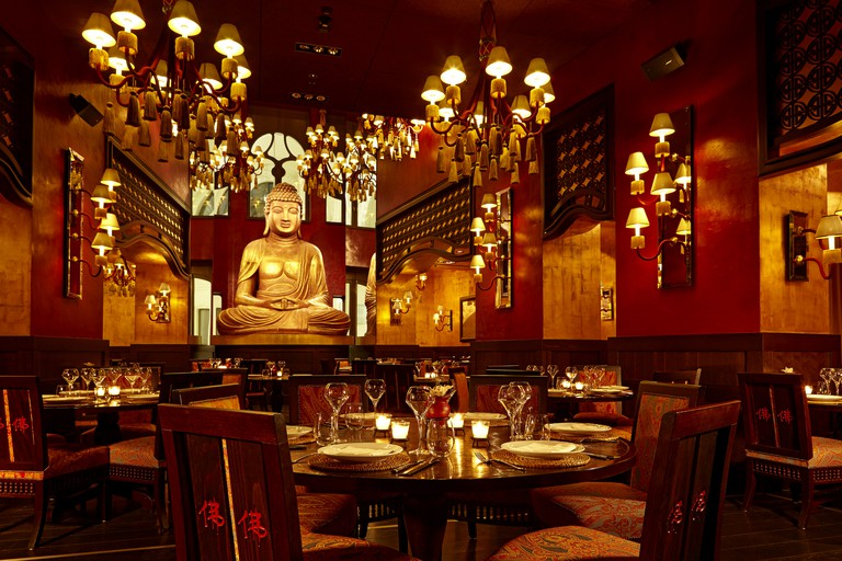 Buddha-Bar Restaurant   Courtesy of Buddha-Bar Budapest.