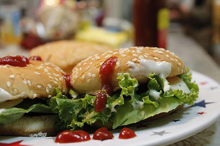 Cheese Burger @ home | © Kabirsabri/WikiCommons
