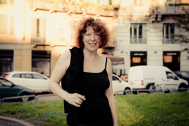 Clara Berta In Milan | Courtesy of Clara Berta