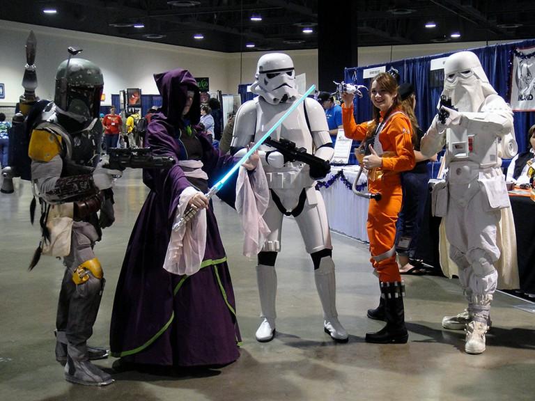 Star Wars cosplay   © Doug Kline, courtesy of Pop Culture Geek/Flickr