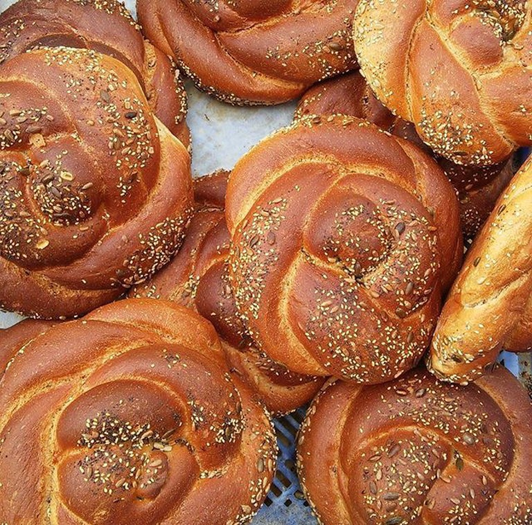 Famous Sabbath Challot at Machene Yehuda Shuk, Courtesy of The Occasional Israeli