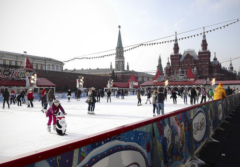 Moscow, Red Square, ice rink | © Katya/Flickr