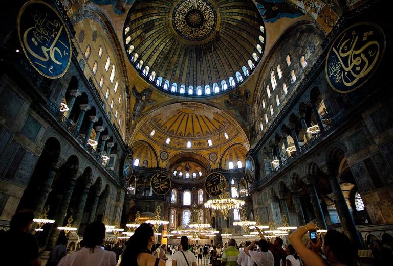 Hagia Sophia, Istanbul   © Esther Lee/Flickr