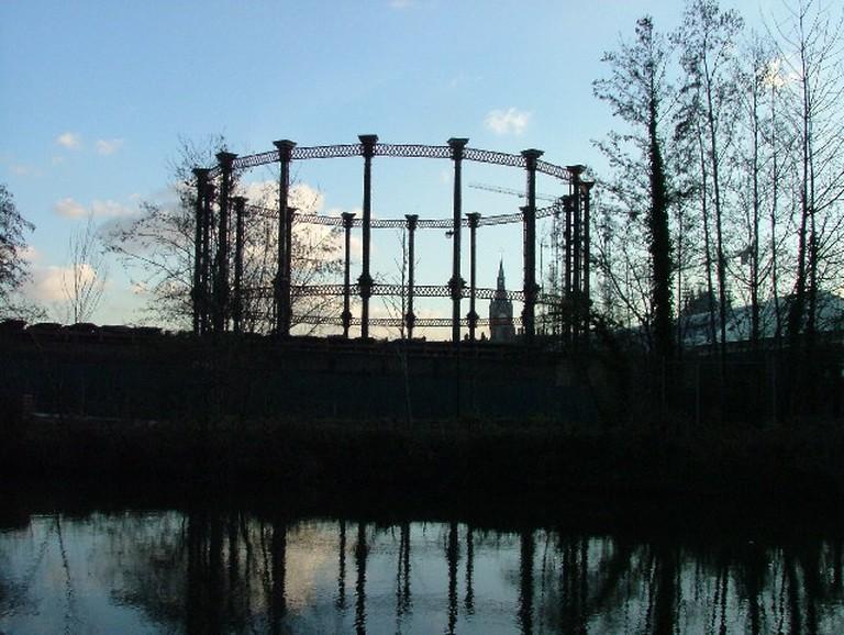 King's Cross Gasholder   © Robin Hall / WikiCommons