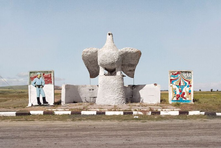 An Elaborate Bus Stop In Karakol, Kyrgyzstan   Courtesy Christopher Herwig