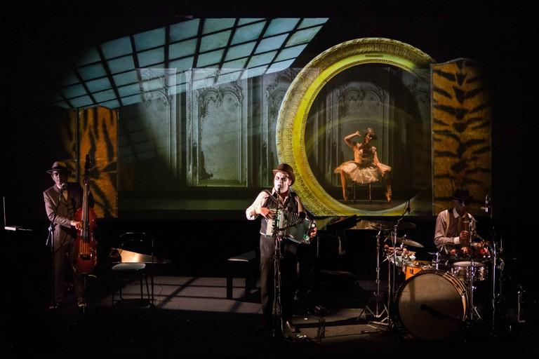 The band performing 'Lulu - A Murder Ballad' | Courtesy of Arthur Leone PR, photograph © Tom Arber