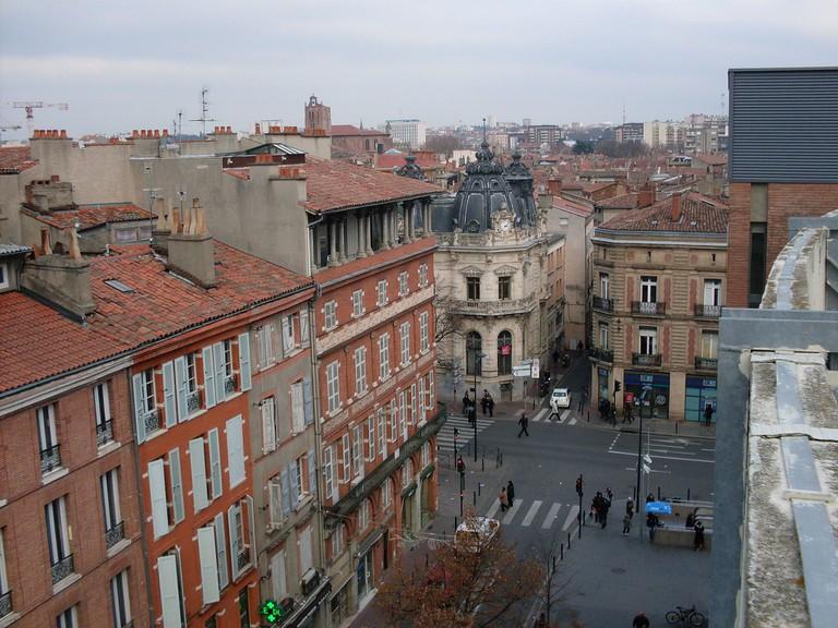 Place des Carmes, Toulouse, carrefour Place des Carmes - Rue du Languedoc - Rue du Canard | ©Traumerune/WikiCommmons/CC-BY-3.0