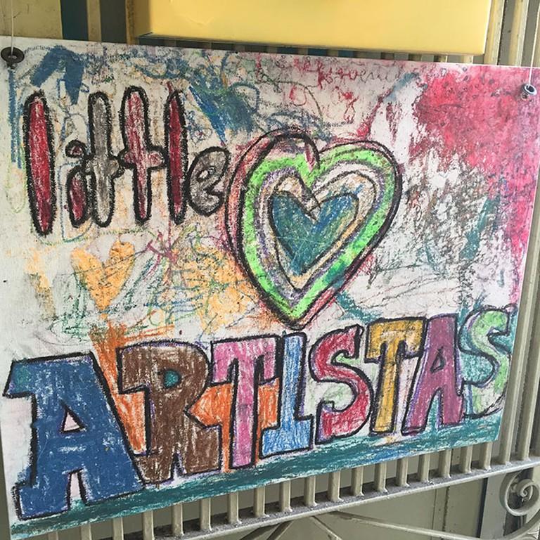 Little Artistas on Chenery Street offers plenty of creative activities for kids in Glen Park. Photo by Sylvie Sturm.