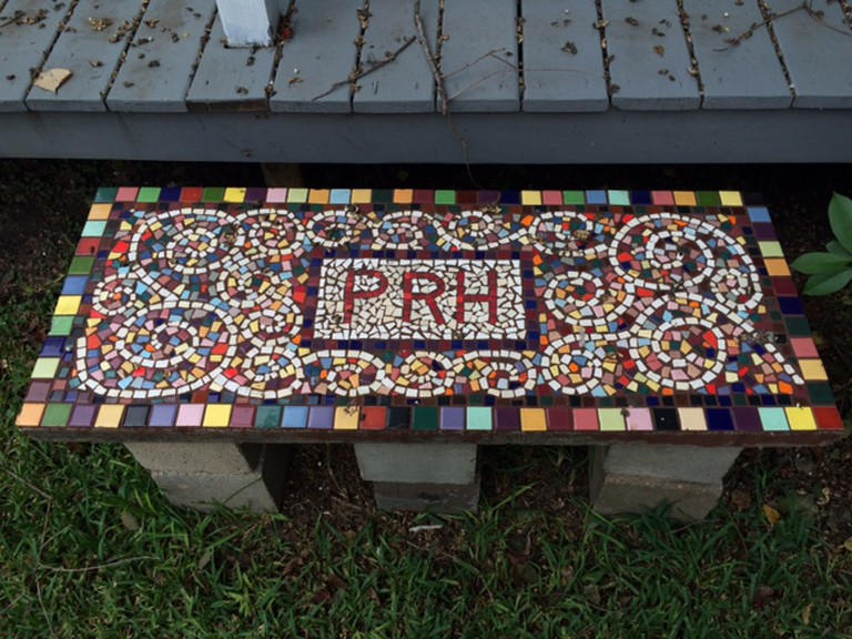 PRH Mosaic Bench | © Melissa Semmler