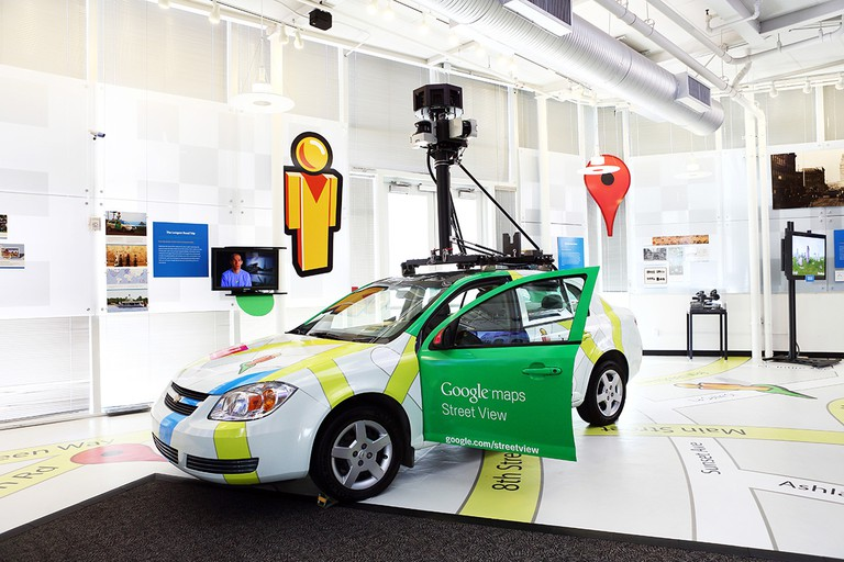 Google Maps with Street View at The Computer History Museum   © Google, Christopher Wu/WikiCommons