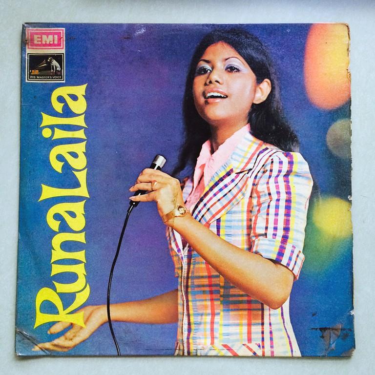 Runa Laila record   © Arshia Haq