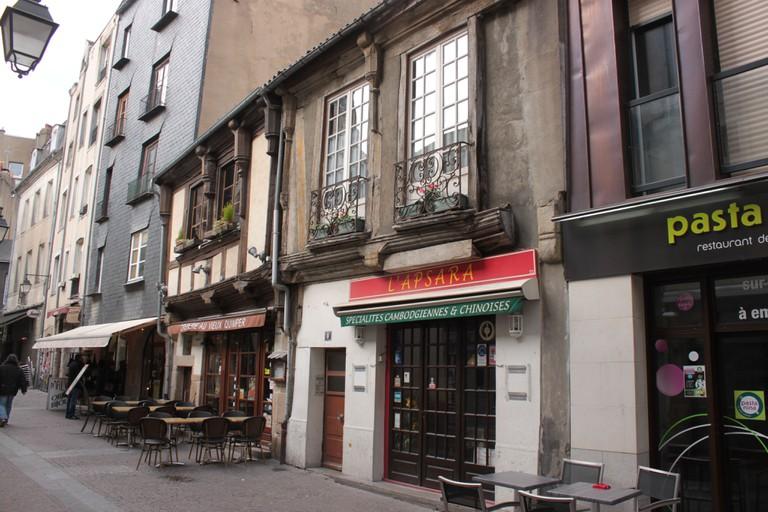 Rue de la Bâclerie, Fr-44-Nantes | ©Llann Wé/WikiCommons